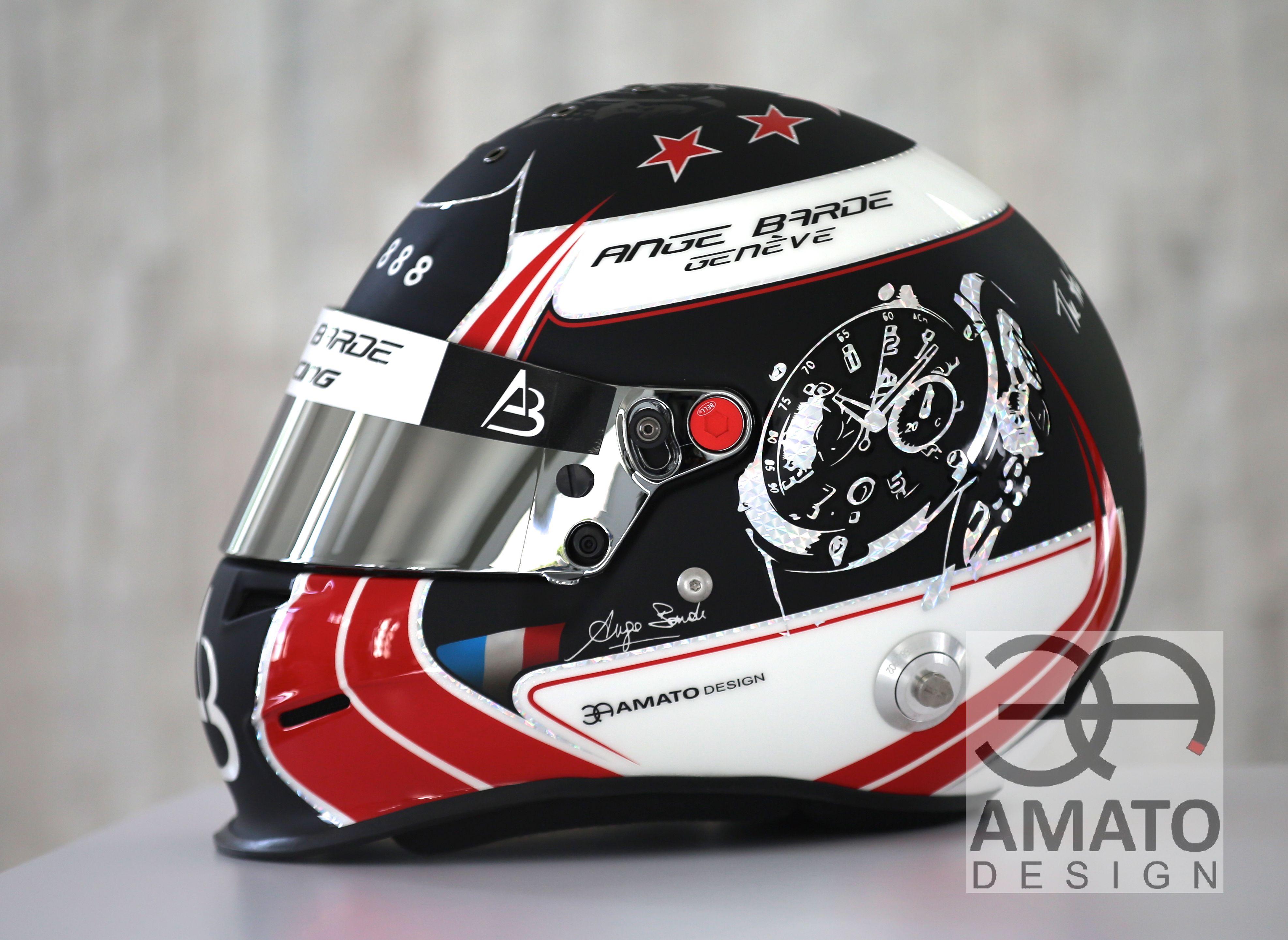 Nouveau casque d'Ange BARDE pour la saison 2017
