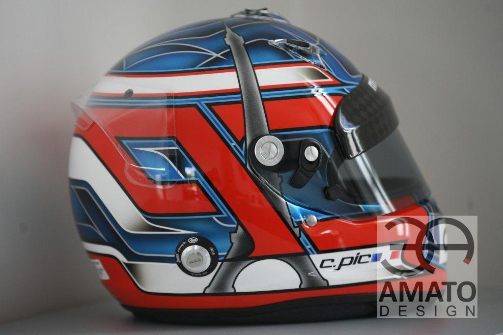 Casque Charles PIC F1 Saison 2012