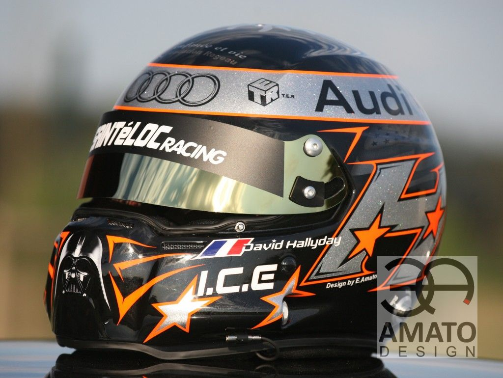 Casque David HALLYDAY 2013