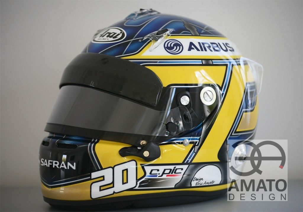 Casque Charles PIC F1 2013