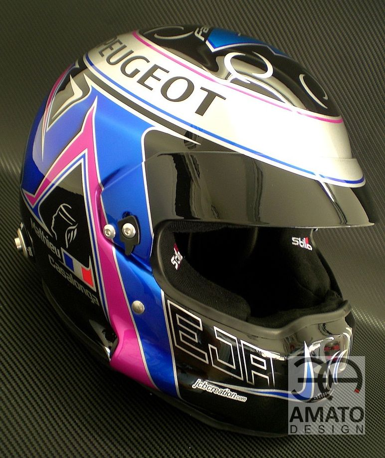 DESIGN CASQUE MATHIEU