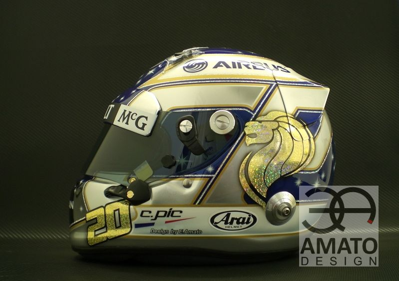 Casque Charles PIC Singapour 2013