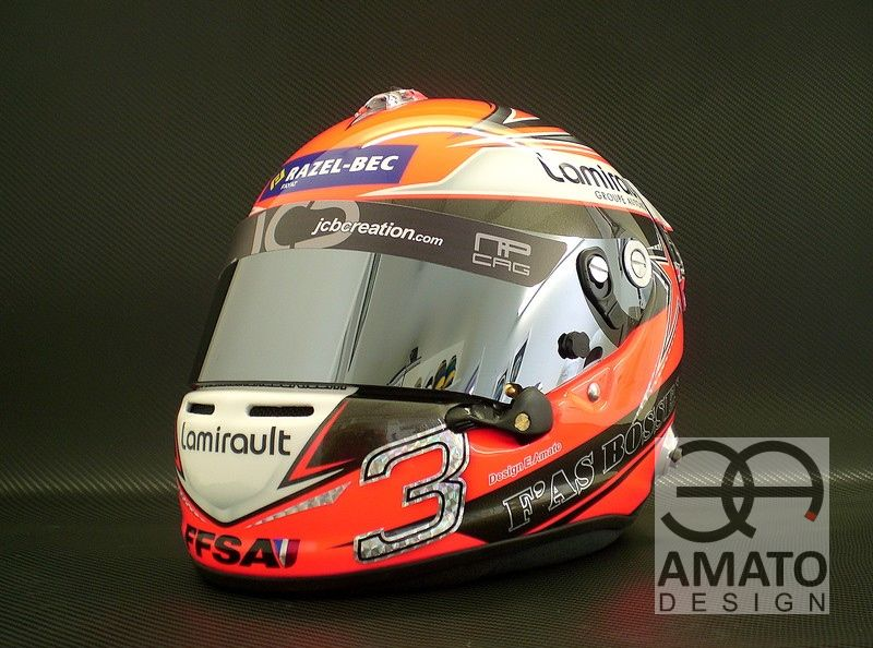 Casque Antoine HUBERT 2013