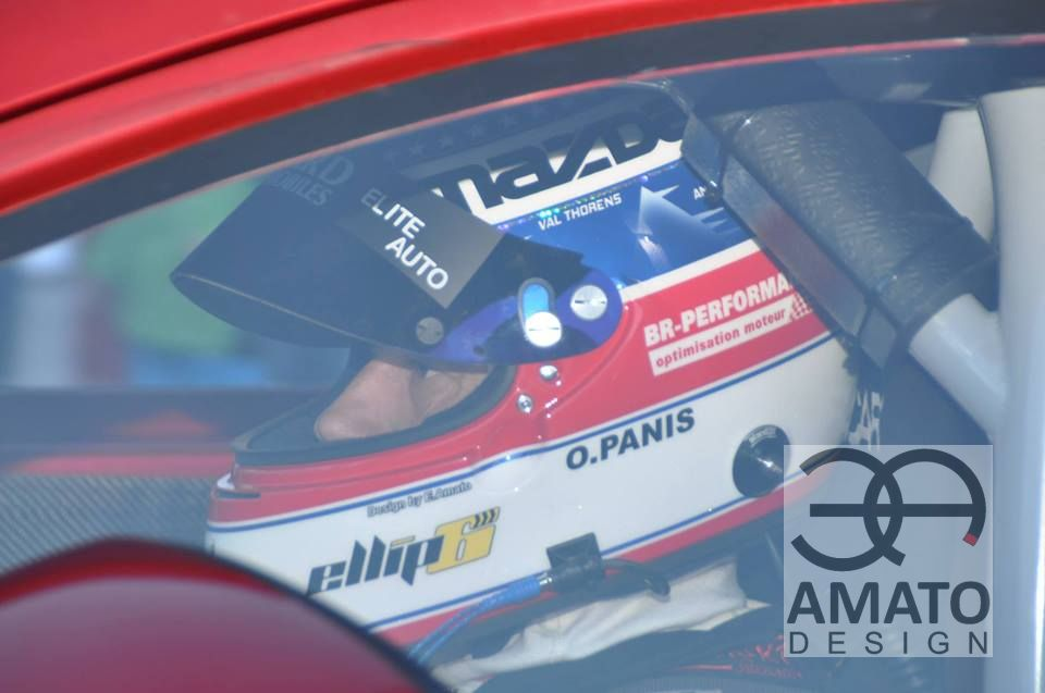 Olivier PANIS Casque Trophée ANDROS - Photo Augustin SPERY