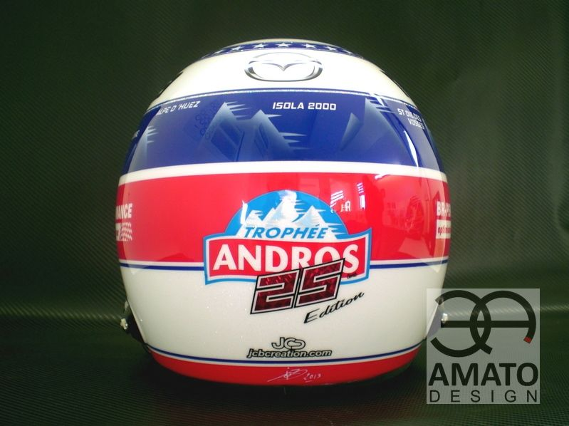 Casque Olivier PANIS - ANDROS 2013-2014