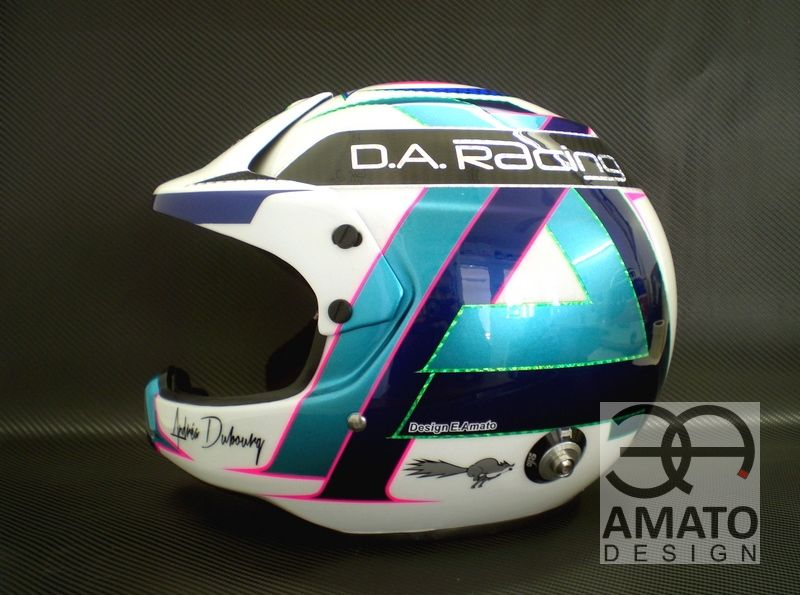 Casque Andréa Dubourg Trophee Andros 2013 2014