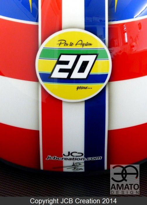 Casque Olivier PANIS GT Tour 2014