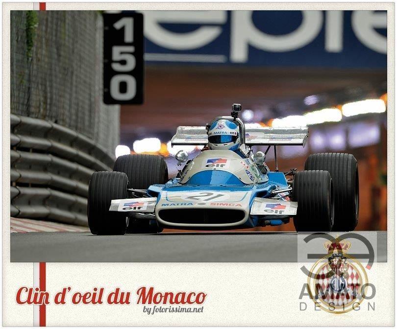 Casque Anthony BELTOISE GP Historique Monaco 2016