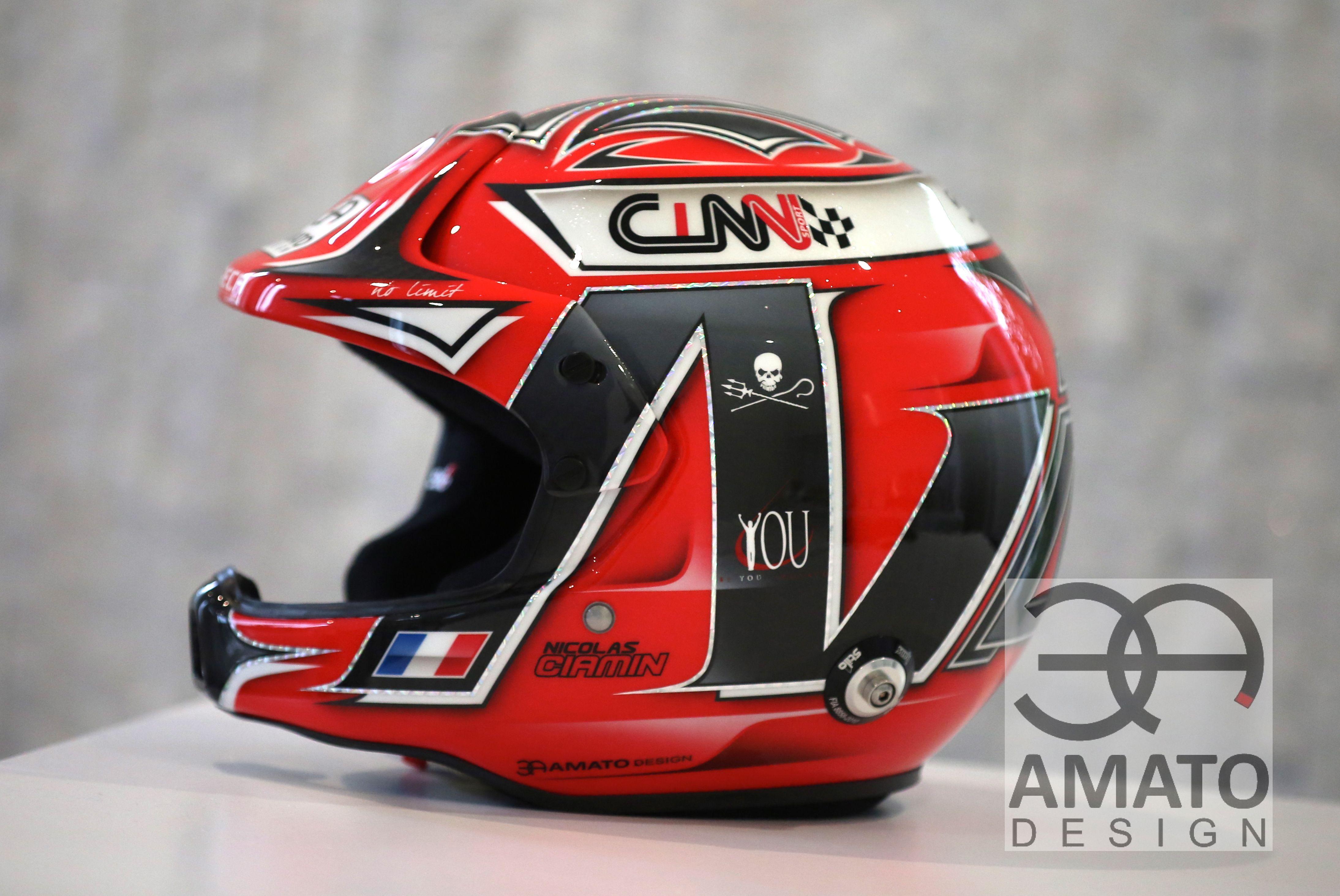 Casque 2017 Nicolas CIAMIN WRC