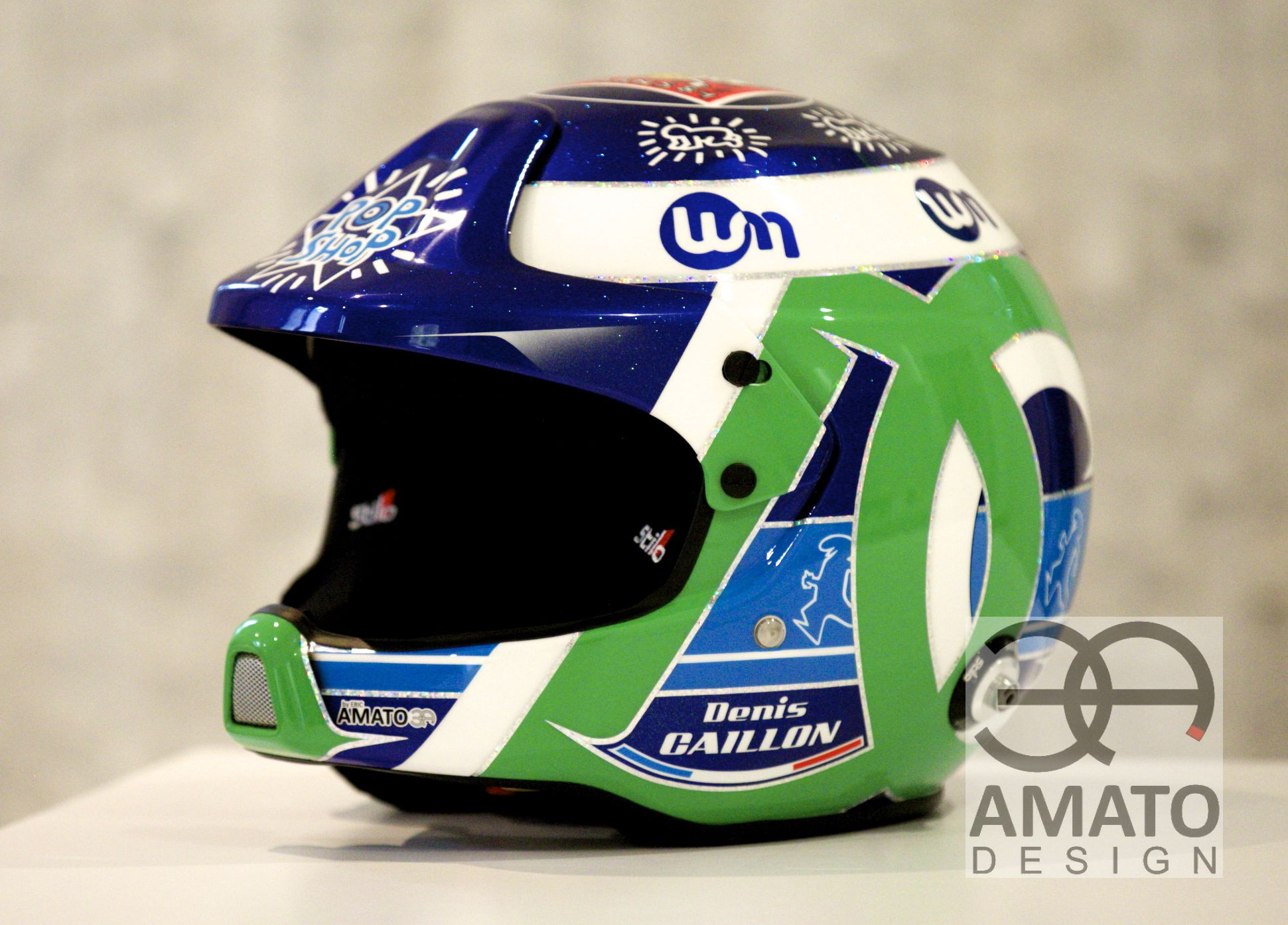 CASQUE AMATO DESIGN DENIS CAILLON