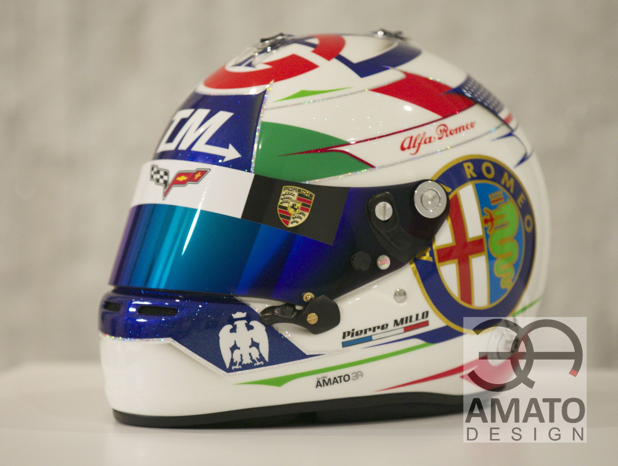 CASQUE AMATO DESIGN PIERRE MILLO