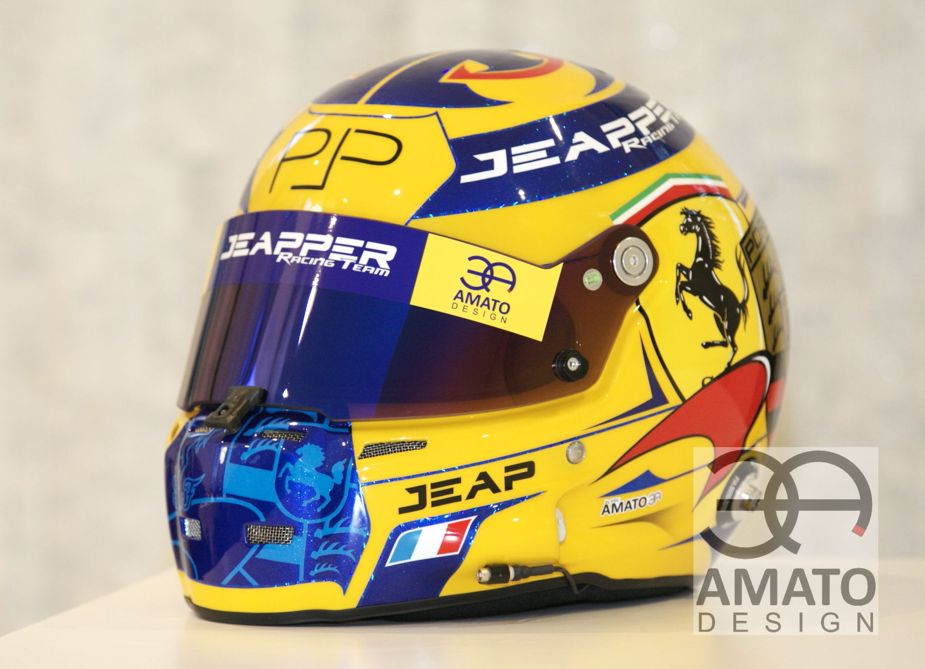 CASQUE AMATO DESIGN JEAP