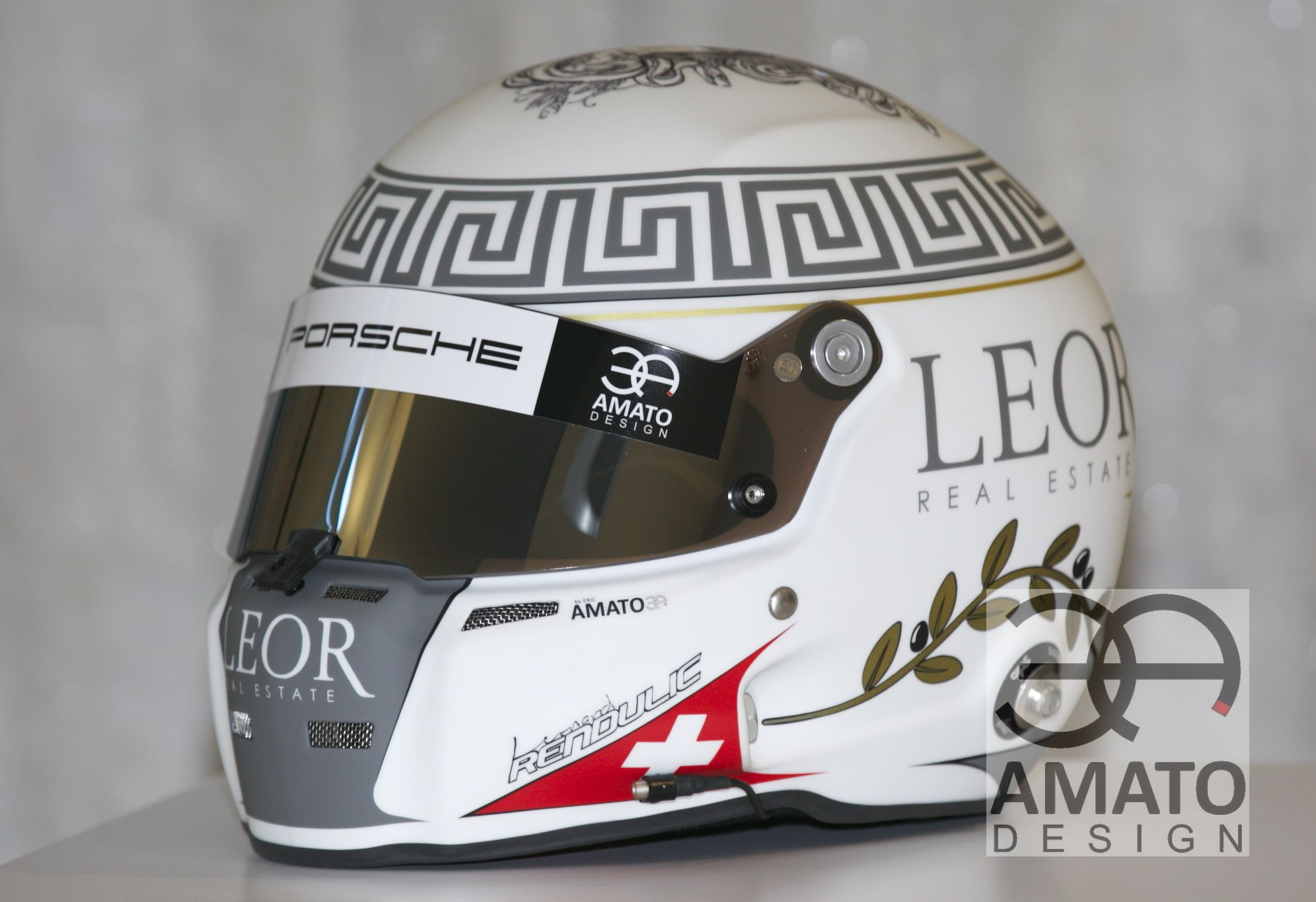 CASQUE AMATO DESIGN - Léonard RENDULIC