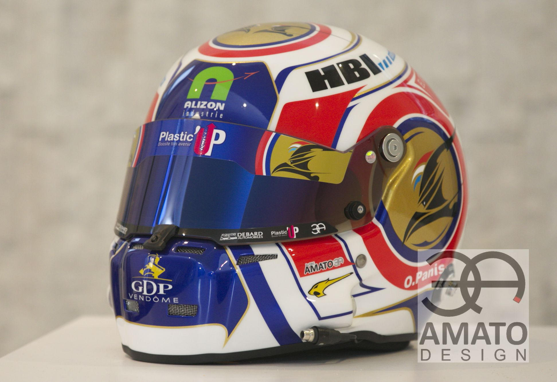 CASQUE AMATO DESIGN OLIVIER PANIS