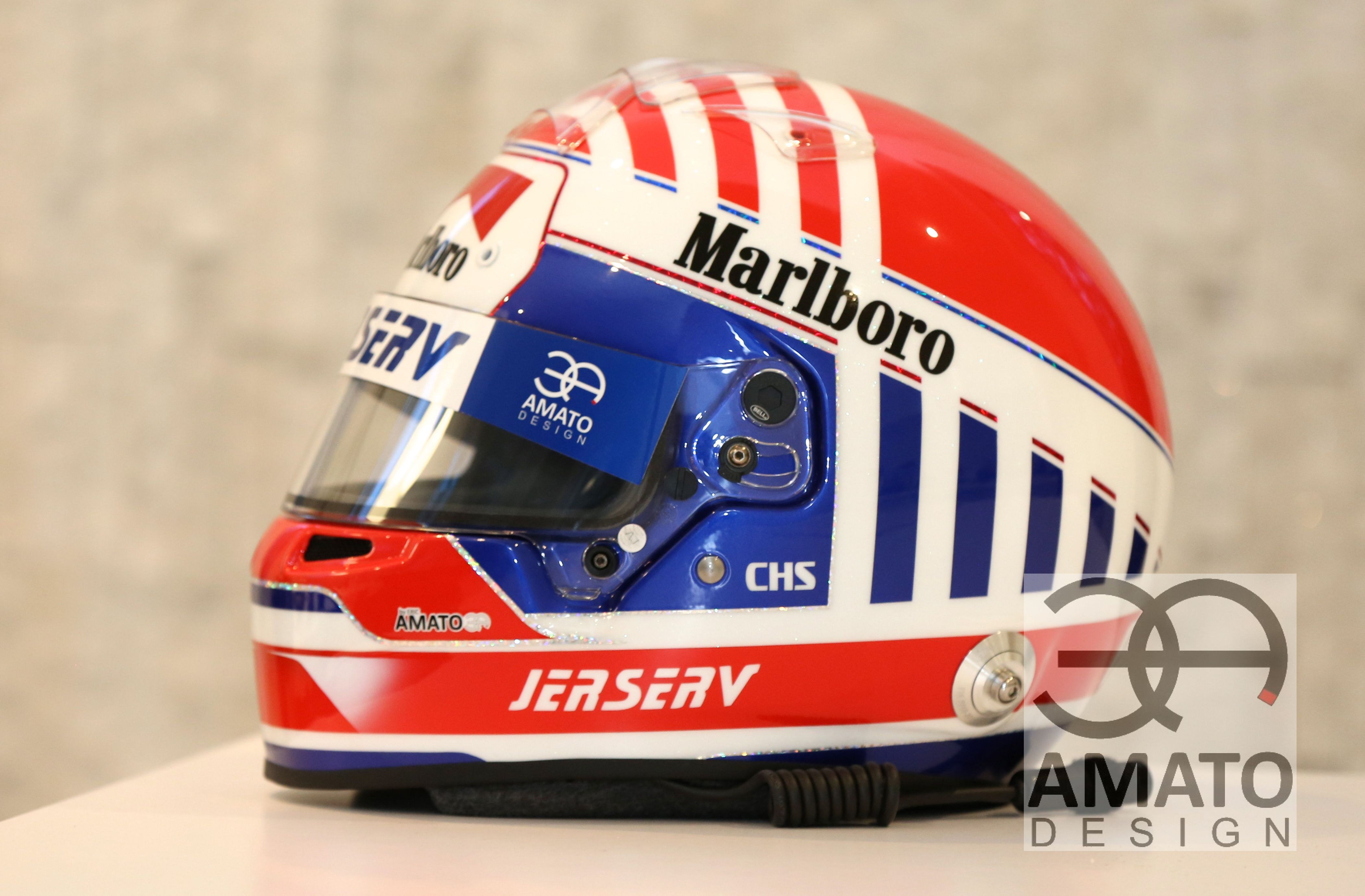 Casque AMATO DESIGN Charles-Henri S