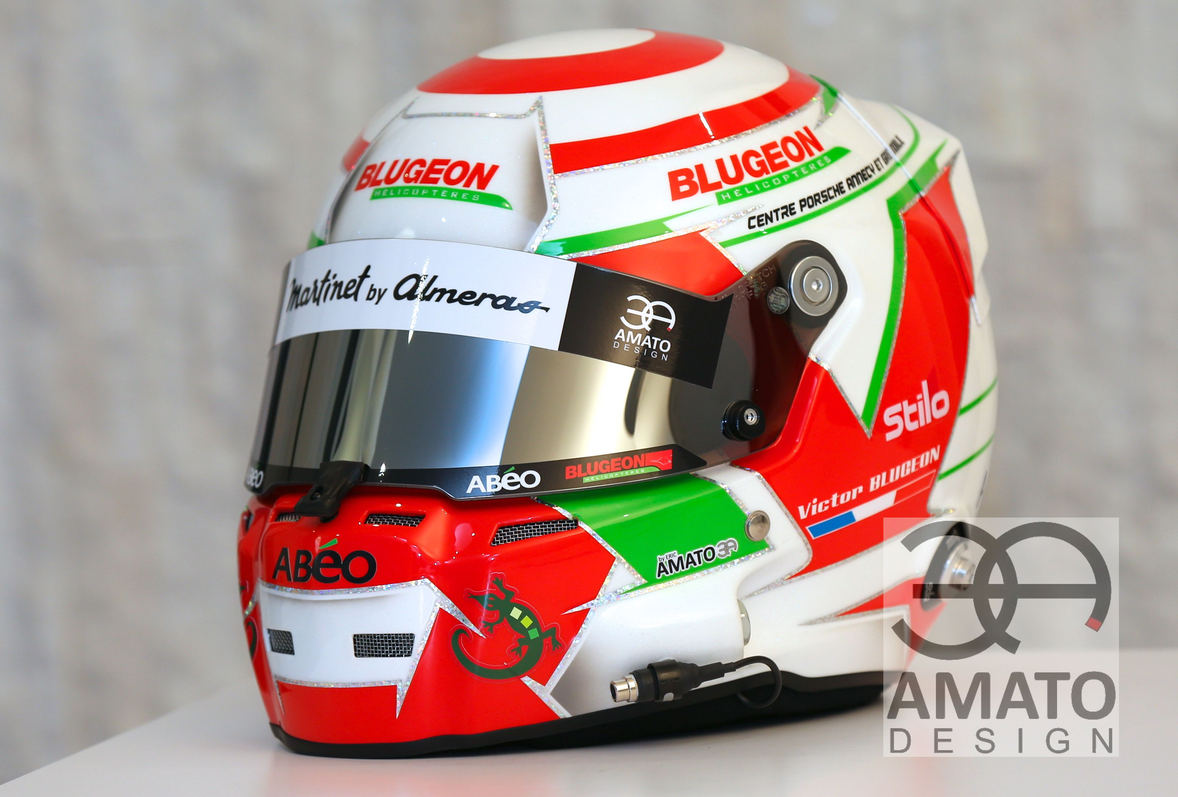 CASQUE AMATO DESING - VICTOR BLUGEON