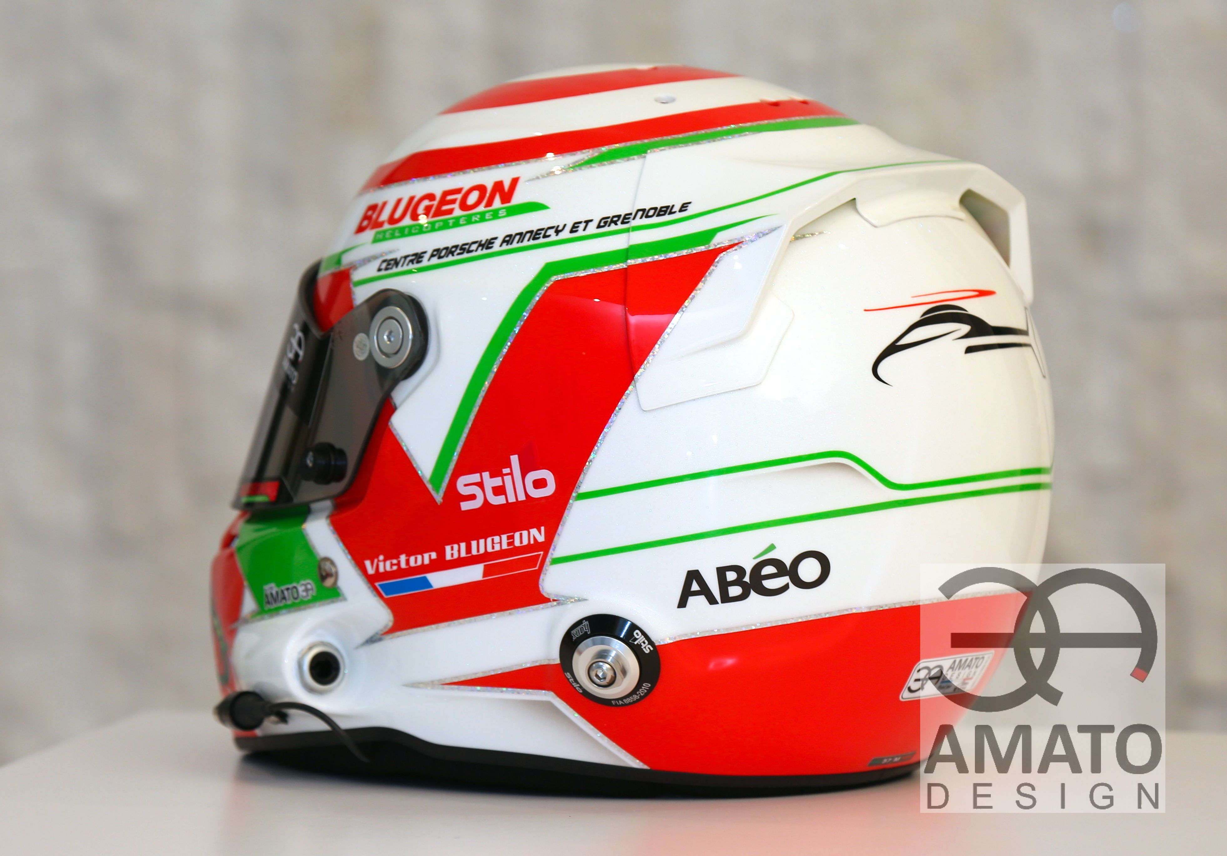 CASQUE AMATO DESIGN - VICTOR BLUGEON