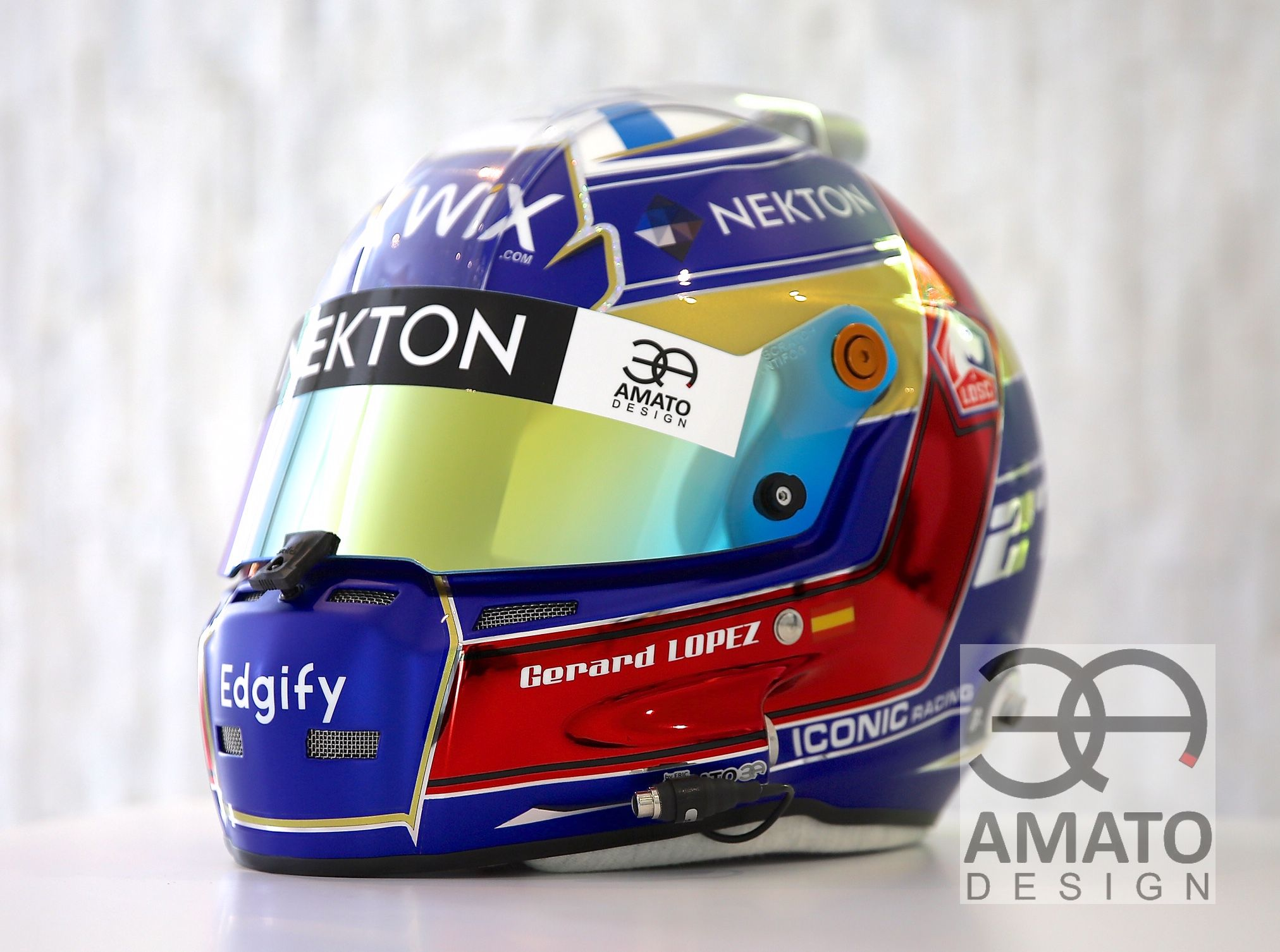 Casque Gérard LOPEZ 2019 AMATO DESIGN