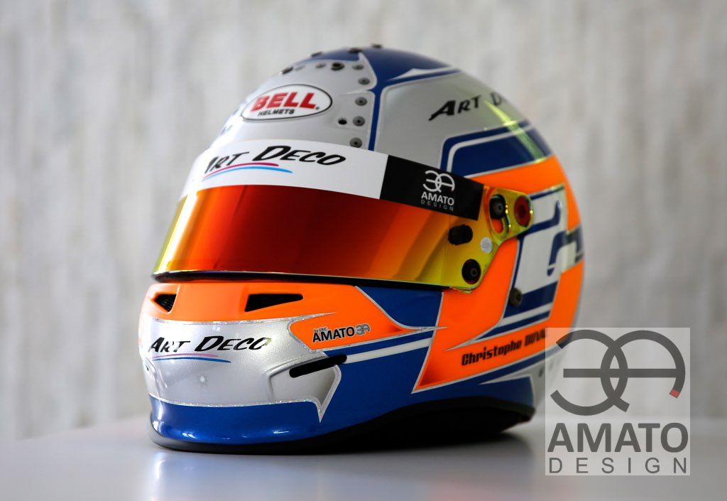 CASQUE AMATO DESIGN CHRISTOPHE DUVAL